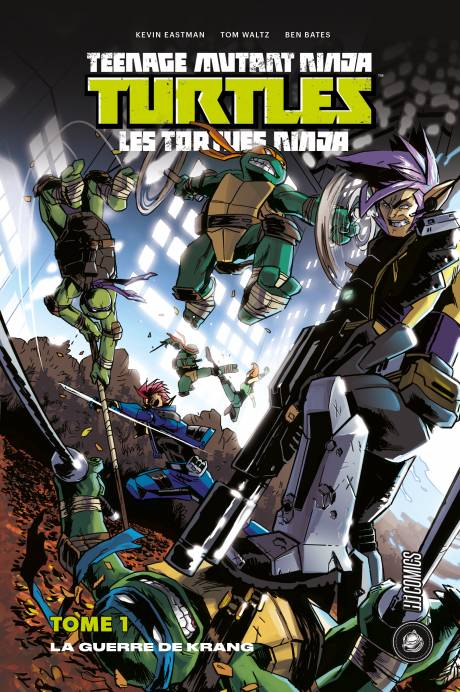 TEENAGE MUTANT NINJA TURTLES VOL 1