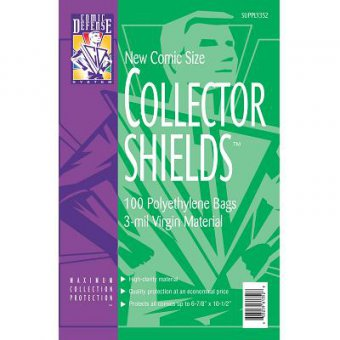 SUPPLIES COLLECTOR SHIELDS CDS.