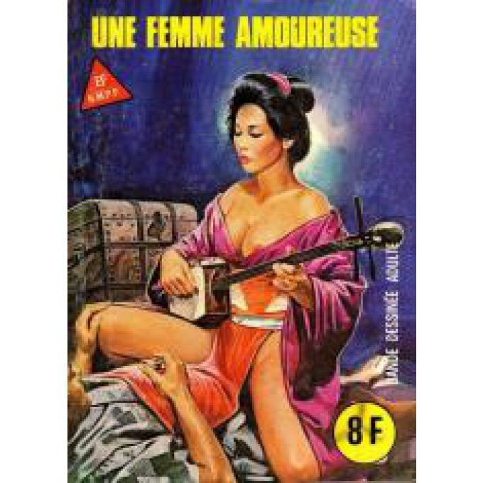 SERIE ROUGE N° 86 : UNE FEMME AMOUREUSE